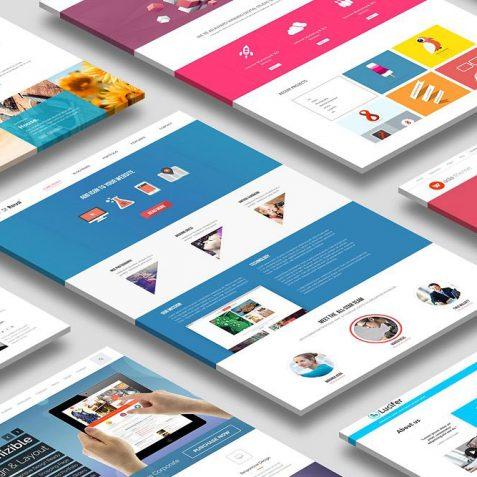 website design ooh aah